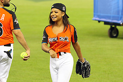 Christina Milian participates in the 2017 MLB All-Star Legends & Celebrity Softball Game at Marlins Park in Miami, Florida. 09 Jul 2017 Pictured: Christina Milian participates in the 2017 MLB All-Star Legends & Celebrity Softball Game at Marlins Park in Miami, Florida. Photo credit: Ralph Notaro / MEGA TheMegaAgency.com +1 888 505 6342