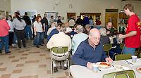 Riley Alward benefit spaghetti supper for Haiti relief at the Gilford United Methodist Church January 30, 2010.