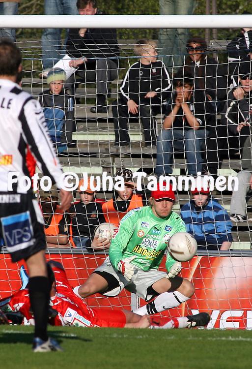 20.05.2007, Hietalahti, Vaasa, Finland..Veikkausliiga 2007 - Finnish League 2007.Vaasan Palloseura - FF Jaro.Markus Koljander - Jaro.©Juha Tamminen.....ARK:k