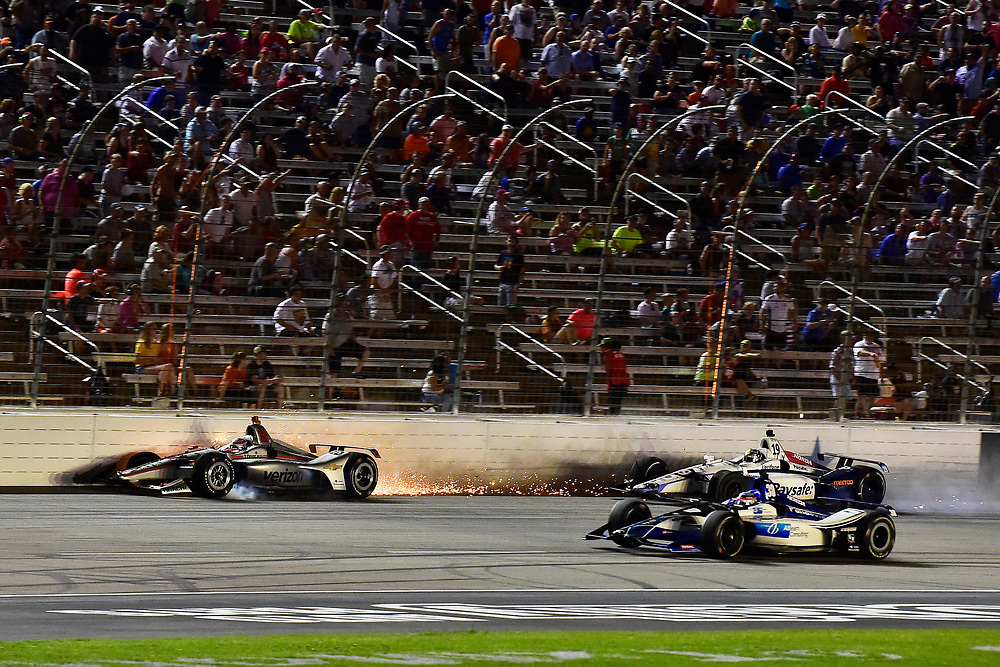 Will Power, Team Penske Chevrolet crash