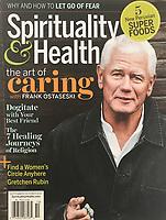 Cover Photo for Spirituality & Health by Doug Ellis