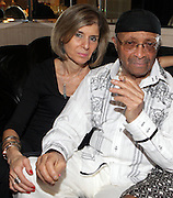 l to r: Jill Newman and Cecil Taylor at Cecil Taylor Celebrating The 80th Year Produced by Jill Newman Productions held at The Blue Note in New York City on May 28, 2009