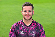 Head shot of Steve Davies in the Vitality Blast kit during the 2019 media day at Somerset County Cricket Club at the Cooper Associates County Ground, Taunton, United Kingdom on 2 April 2019.