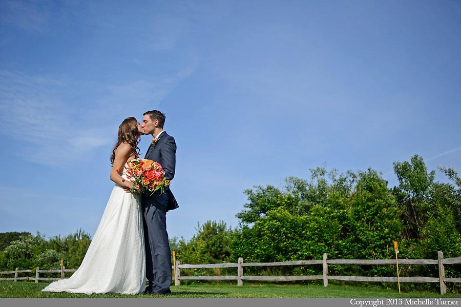 Martha's Vineyard Wedding at Hooked.  Images by Michelle Turner, Destination Wedding Photographer.