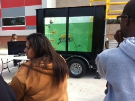 Sam Houston Math, Science, and Technology Center recently hosted an underwater robot exhibit known as SEATIGER at its campus.<br />