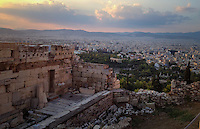 Athens, Greece- September 10, 2014: Perched high above the city lies the Acropolis, one of the most recognizable historical sites in the world. The Acropolis is the site of many ancient ruins, most famously the Parthenon. CREDIT: Chris Carmichael for The New York Times