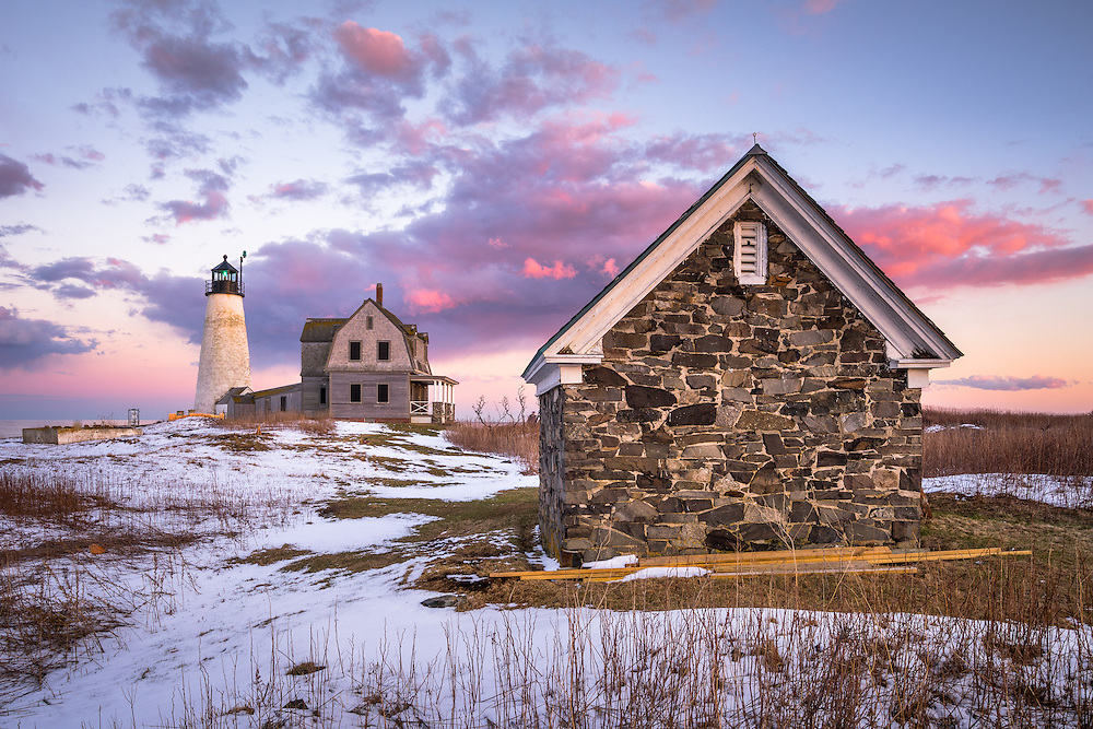 Accessible only by boat, this lighthouse on the Coast of Maine is one of the prettiest I've seen. Paddling in March isn't something I usually consider, but a fried offered to take me out here, and I jumped at the chance. Boats coming to and from Biddeford Pool know this landmark well.