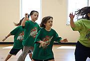Youth league girls basketball game. Malvern, PA