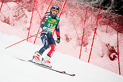 Charlie Raposo of Great Britain competes during 1st run of Men's GiantSlalom race of FIS Alpine Ski World Cup 57th Vitranc Cup 2018, on March 3, 2018 in Kranjska Gora, Slovenia. Photo by Ziga Zupan / Sportida