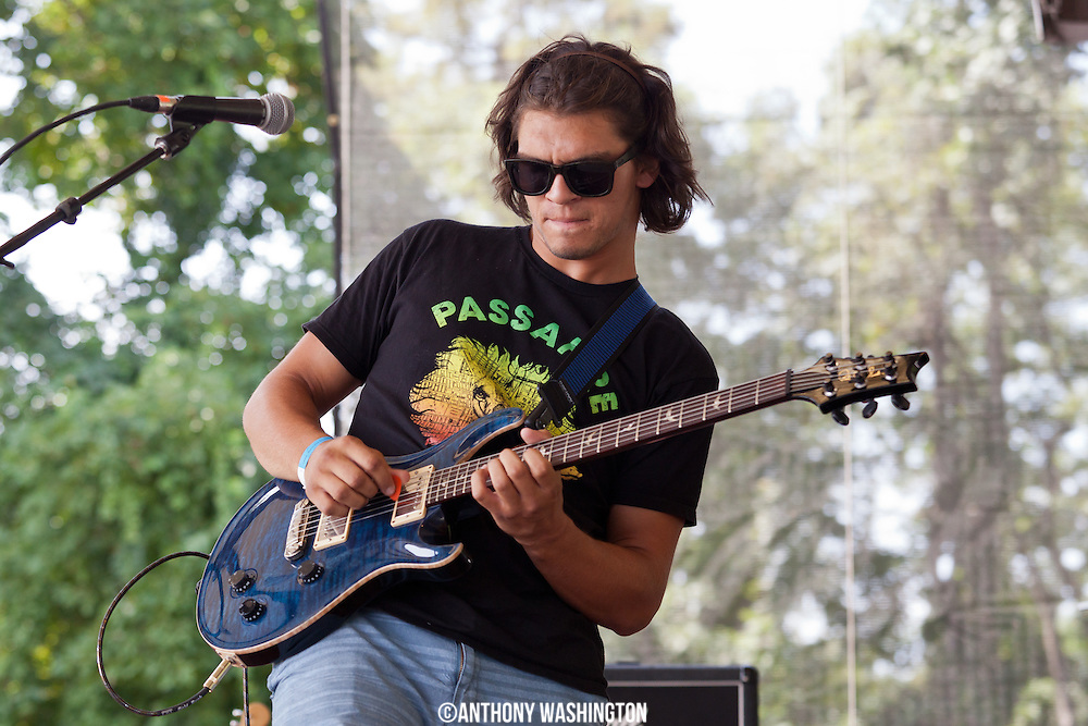 James Rubush of band Little Bird performs during the Silopanna Music Festival at the Anne Arundel County Fairgrounds in Crownsville, MD on Saturday, August 16, 2014.