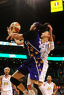 June 4, 2010; Phoenix, AZ, USA; Los Angeles Sparks foward Candace Parker is fouled by defender Phoenix Mercury guard Diana Taurasi during the first half in at US Airways Center.  Mandatory Credit: Jennifer Stewart-US PRESSWIRE