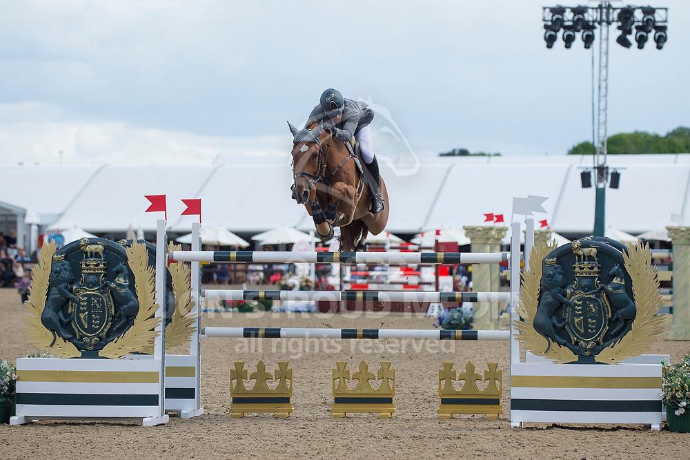 Abdulrahman Alrajhi  (KSA) & Varo M- Rolex Grand Prix - CSI5* Jumping - Royal Windsor Horse Show - Home Park, Windsor, United Kingdom - 14 May 2017