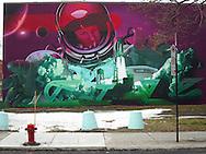 Mural, Montreal, February, 2016.