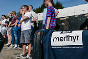 Merthyr Tydfil, Penydarren Park, Southern Football League Fixture, MERTHYR TOWN VS. FARNBOROUGH, 20th April 2019. <br /> <br /> Game finished in a 0 - 0 draw.