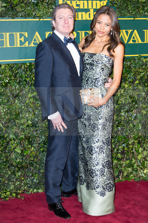 © Licensed to London News Pictures. 03/12/2017. London, UK. VISCOUNT and VISCOUNTESS WEYMOUTH attends the London Evening Standard Theatre Awards 2017 held at the Theatre Royal, Dury Lane. Photo credit: Ray Tang/LNP