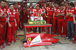 26.11.2011, Autodromo Jose Carlos Pace, Sao Paulo, BRA, F1, Grosser Preis von Brasilien, im Bild Felipe Massa (BRA), Scuderia Ferrari.Celebration of 10 years in Formula 1 and100 Grands Prix with Ferrarifor Austria & Germany Media usage only! // during the Formula One Championships 2011 Grand Prix of Brazil held at the Autodromo Jose Carlos Pace, Sao Paulo, Brazil on 2011/11/26. EXPA Pictures © 2011, PhotoCredit: EXPA/ nph/ poleposition.at****** for Austria & Germany Media usage only ******..***** ATTENTION - for AUT only *****