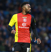 Birmingham City midfielder Jacques Maghoma during the Sky Bet Championship match between Brighton and Hove Albion and Birmingham City at the American Express Community Stadium, Brighton and Hove, England on 28 November 2015. Photo by Bennett Dean.