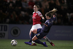 Arsenal Women's Vivianne Miedema (left) scores the opening goal