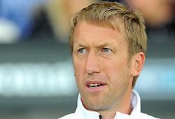 Swansea City manager Graham Potter looks on- Mandatory by-line: Nizaam Jones/JMP- 21/08/2018 - FOOTBALL - Liberty Stadium - Swansea, Wales - Swansea City v Leeds United - Sky Bet Championship