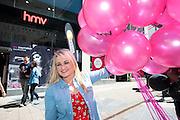 Michaela Hayes,at the opening of HMV Galwayat Edward square. Photo:Andrew Downes