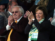 Plymouth -Saturday September 13th 2008: Delia Smith, chair person of   Norwich City with Michael Wynn Jones during the Coca Cola Championship match at Plymouth.(Pic by Tony Carney/Focus Images)