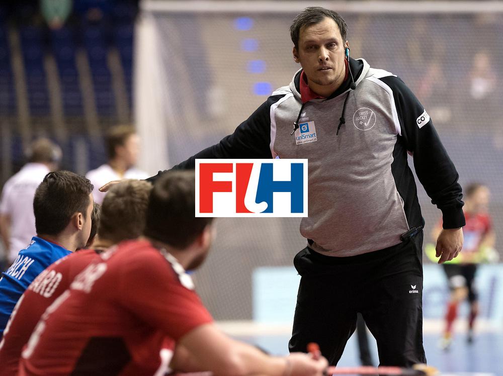 BERLIN - Indoor Hockey World Cup<br /> Men: Switzerland - Belgium<br /> foto: ELSTE Chris<br /> WORLDSPORTPICS COPYRIGHT FRANK UIJLENBROEK