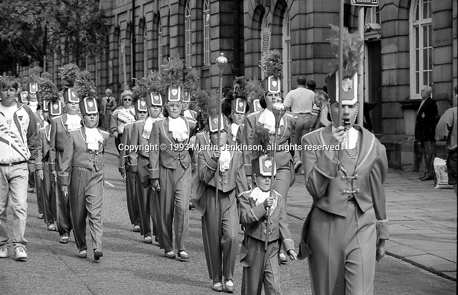 Squadronaires Jazz Band. 1993 Yorkshire Miner's Gala. Wakefield.