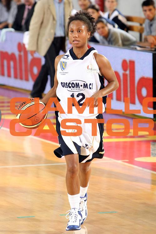 DESCRIZIONE : Roma Lega A1 Femminile 2008-09 Prima giornata Campionato Pool Comense Gescom MCI Viterbo<br /> GIOCATORE : Ashley Morris <br /> SQUADRA : Gescom MCI Viterbo<br /> EVENTO : Campionato Lega A1 Femminile 2008-2009 <br /> GARA : Pool Comense Gescom MCI Viterbo<br /> DATA : 11/10/2008 <br /> CATEGORIA : Palleggio<br /> SPORT : Pallacanestro <br /> AUTORE : Agenzia Ciamillo-Castoria/C.De Massis
