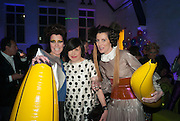 VALERIA NAPOLEONE; ALICE RAWTHORN; STEFANIA PRAMMA;   Pop party. the birthday celebration of twin sisters Valeria Napoleone and Stefania Pramma. Studio Voltaire, London SW4. 17 May 2013.