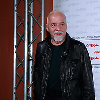 Paolo Coelho at photocall for &quot;The Experimental Witch&quot; Rome Film Festival, Rome, Italy. <br /> <br /> copyright Steve Bisgrove/Writer PIctures<br /> contact +44 (0)20 822 41564<br /> info@writerpictures.com <br /> www.writerpictures.com
