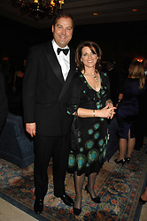 The HON.HARRY & MRS HERBERT at the 17th annual Cartier Racing Awards 2007 held at the Four Seasons Hotel, Hamilton Place, London on 14th November 2007.<br /><br />NON EXCLUSIVE - WORLD RIGHTS