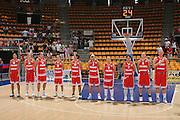 DESCRIZIONE : Bologna Qualificazione Eurobasket Women 2009 Italia Polonia <br /> GIOCATORE : Team Poland <br /> SQUADRA : Polonia Poland<br /> EVENTO : Raduno Collegiale Nazionale Femminile<br /> GARA : Italia Polonia Italy Poland <br /> DATA : 30/08/2008 <br /> CATEGORIA :  <br /> SPORT : Pallacanestro <br /> AUTORE : Agenzia Ciamillo-Castoria/M.Marchi <br /> Galleria : Fip Nazionali 2008 <br /> Fotonotizia : Bologna Qualificazione Eurobasket Women 2009 Italia Polonia <br /> Predefinita :