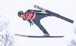 02.02.2019, Heini Klopfer Skiflugschanze, Oberstdorf, GER, FIS Weltcup Skiflug, Oberstdorf, im Bild Timi Zajc (SLO) // Timi Zajc of Slovenia during his Jump of FIS Ski Jumping World Cup at the Heini Klopfer Skiflugschanze in Oberstdorf, Germany on 2019/02/02. EXPA Pictures © 2019, PhotoCredit: EXPA/ JFK