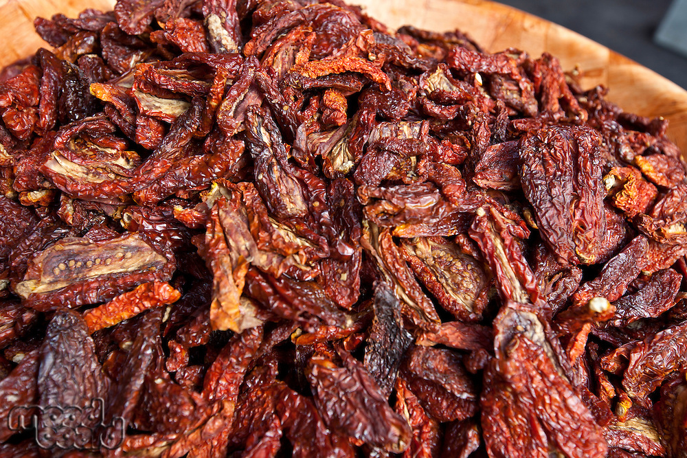 Close-up of dried red chilli pepper