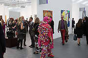 ALEXANDRA FLY , The VIP preview of Frieze. Regent's Park. London. 16 October 2013