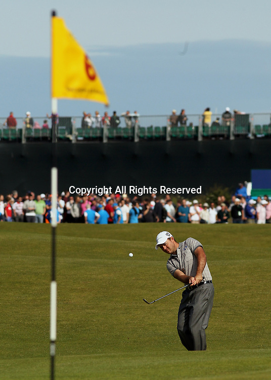 22.07.12 Lytham & St Annes, England. South African Richard Sterne in action during the fourth and final round of The Open Golf Championship from the Royal Lytham & St Annes course in Lancashire