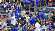 May 29, 2017 - San Diego, CA, USA - Fans go for a foul ball during a San Diego Padres game against the Chicago Cubs on Monday, May 29, 2017 at Petco Park in San Diego, Calif. (Credit Image: © K.C. Alfred/TNS via ZUMA Wire)