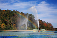 Water Fountain, Rainbow And Reflecting Pool, Eden Park, Cincinnati, Ohio