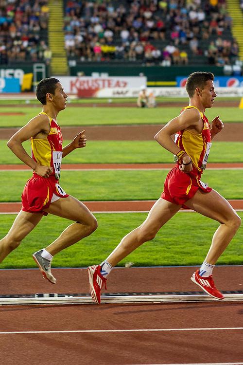 mens 5000 meters, Spain