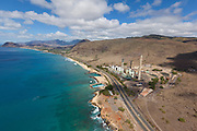 Hawaiian Electric power plant,  Oahu, Hawaii
