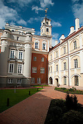The Observatory at Vilnius University and its Courtyard