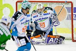 Alex Westlund (EHC Liwest Linz, #32) during ice-hockey match between HDD Tilia Olimpija and EHC Liwest Black Wings Linz in 51st Round of EBEL league, on Februar 5, 2012 at Hala Tivoli, Ljubljana, Slovenia. (Photo By Matic Klansek Velej / Sportida)