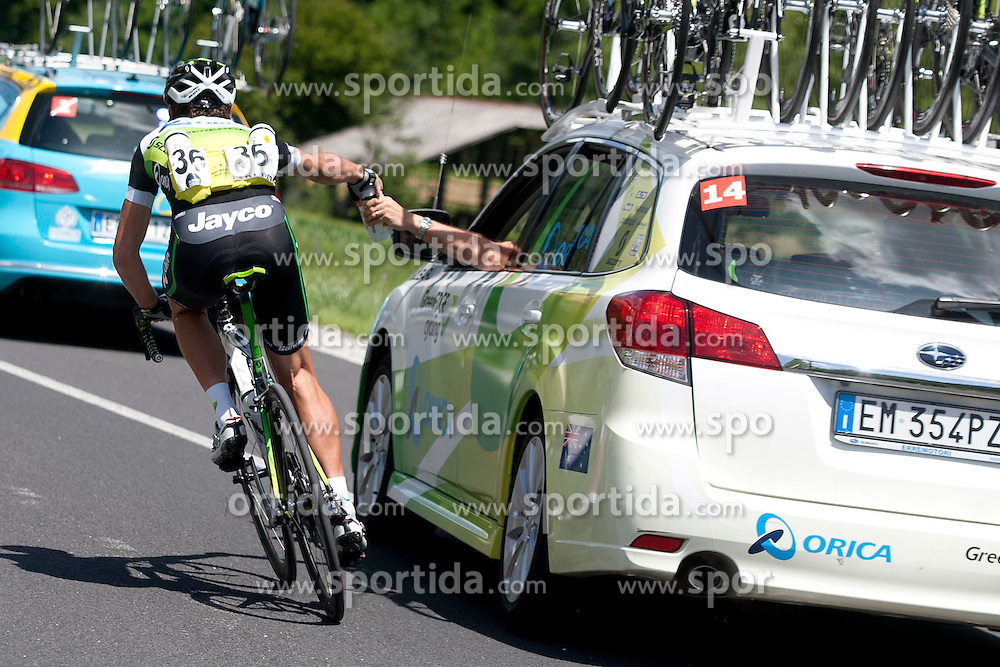 IMPEY Daryl of Orica-Green Edge during 1st Stage (164 km) at 19th Tour de Slovenie 2012, on June 14, 2012, in Celje, Slovenia. (Photo by Matic Klansek Velej / Sportida)