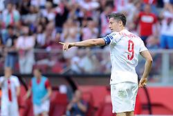 13.06.2015, Nationalstadion, Warschau, POL, UEFA Euro 2016 Qualifikation, Polen vs Greorgien, Gruppe D, im Bild ROBERT LEWANDOWSKI, RADOSC BRAMKA GOL EMOCJE 2:0 DLA POLSKI // during the UEFA EURO 2016 qualifier group D match between Poland and Greorgia at the Nationalstadion in Warschau, Poland on 2015/06/13. EXPA Pictures © 2015, PhotoCredit: EXPA/ Pixsell/ MICHAL STANCZYK / CYFRASPORT<br /> <br /> *****ATTENTION - for AUT, SLO, SUI, SWE, ITA, FRA only*****