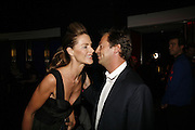 Trinny Woodall and Matthew Freud, Emporio Armani Red One Night Only. Brompton Hall, Earls Court. London. 21 September 2006.  . ONE TIME USE ONLY - DO NOT ARCHIVE  © Copyright Photograph by Dafydd Jones 66 Stockwell Park Rd. London SW9 0DA Tel 020 7733 0108 www.dafjones.com