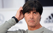 Germany head coach Joachim Low speaks at a press conference at Stadio Communale, Ascona<br /> Picture by EXPA Pictures/Focus Images Ltd 07814482222<br /> 31/05/2016<br /> ***UK &amp; IRELAND ONLY***<br /> EXPA-EIB-160531-0013.jpg