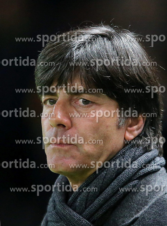 16.10.2012, Olympia Stadion, Berlin, GER, FIFA WM Qualifikation, Deutschland vs Schweden, im Bild Joachim, Jogi LOEW (Deutschland) // during the FIFA World Cup Qualifier Match between Germany and Sweden at the Olympic Stadium, Berlin, Germany on 2012/10/16. EXPA Pictures © 2012, PhotoCredit: EXPA/ Eibner/ Eckhard Eibner..***** ATTENTION - OUT OF GER *****