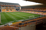 Stadium during the Sky Bet Championship match between Wolverhampton Wanderers and Sheffield Wednesday at Molineux, Wolverhampton, England on 7 May 2016. Photo by Alan Franklin.