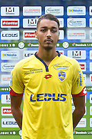 Sofiane Daham of Sochaux during the FC Sochaux photocall for the season 2016/2017 in Sochaux on September 20th 2016<br /> Photo : Philippe Le Brech / Icon Sport