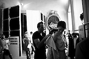 backstage Silvio Betterelli - Milan fashion week - 24.09.2011